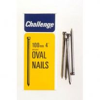 Challenge Oval Wire Nails - Bright Steel (Box Pack) - 100mm
